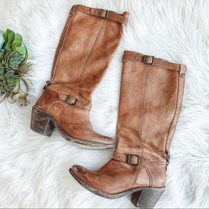 Frye | Brown tall boots